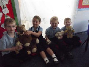 Teddy Bears and Pillows